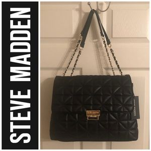 Steve Madden Black BJAXSON Shoulder Bag
